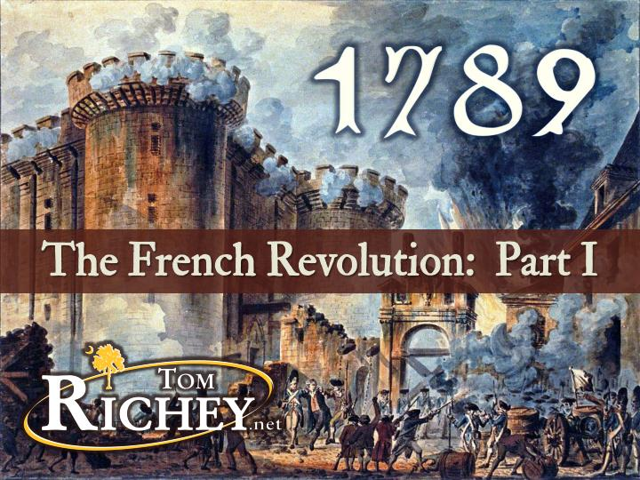 the french revolution of 1789