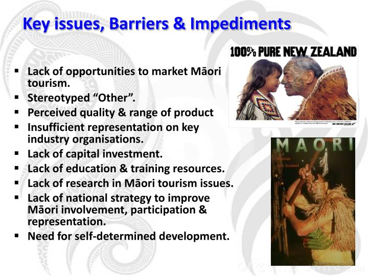 Key issues, Barriers & Impediments