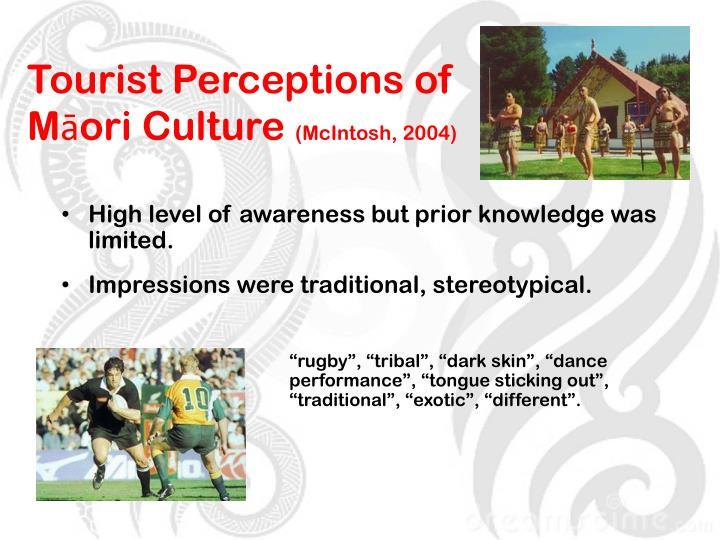 Tourist Perceptions of Māori Culture