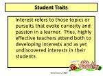 student traits2