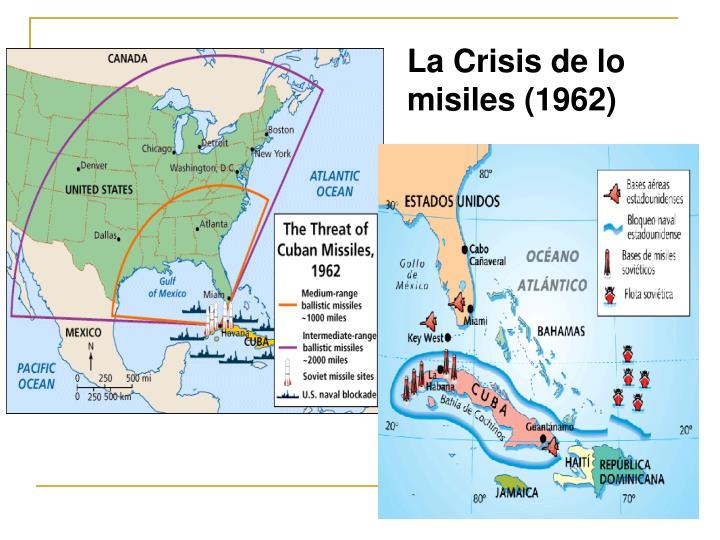 La Crisis de lo misiles (1962)