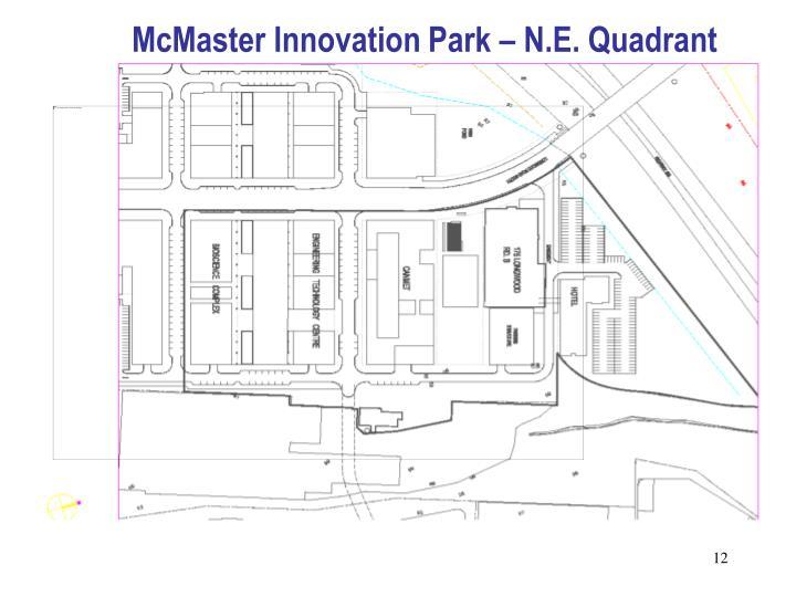 McMaster Innovation Park – N.E. Quadrant