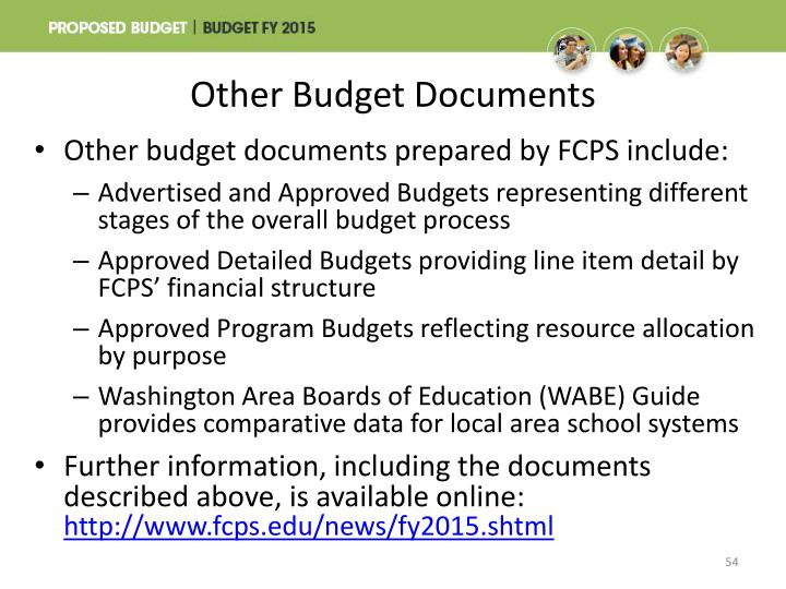Other Budget Documents