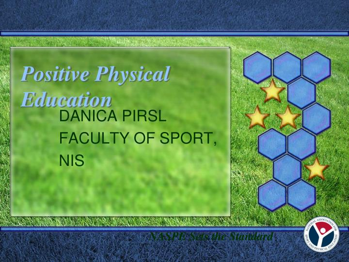 positive physical education n.