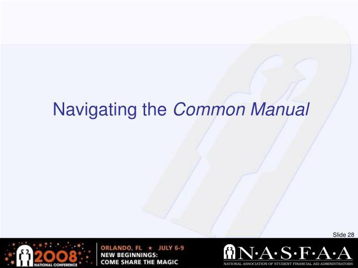 Navigating the