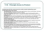 lesson 7 health safety and security in the bar 7 10 principle areas to protect