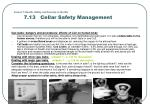 lesson 7 health safety and security in the bar 7 13 cellar safety management2