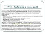 lesson 7 health safety and security in the bar 7 15 performing a waste audit1
