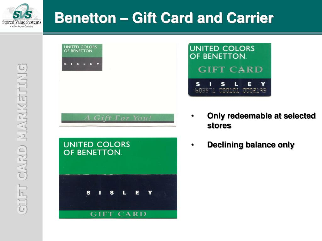 PPT - GIFT CARD MARKETING PowerPoint Presentation - ID:4123867