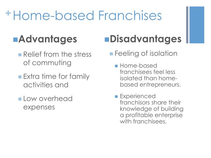 Home-based Franchises