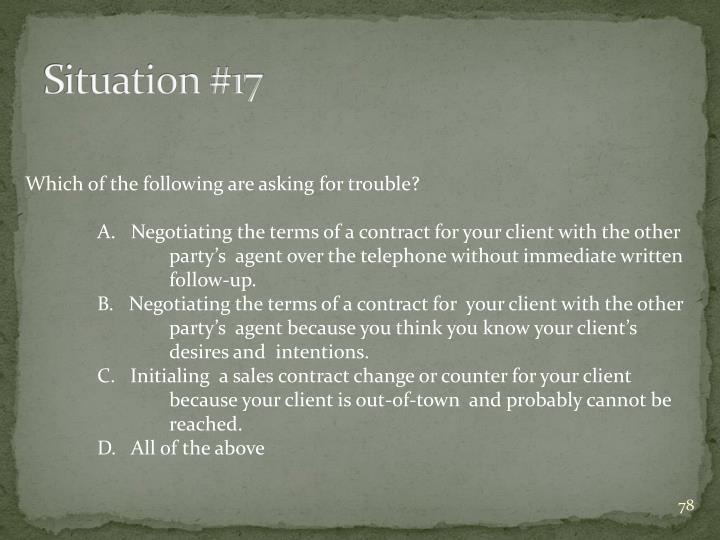 Situation #17