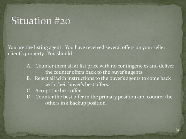 Situation #20