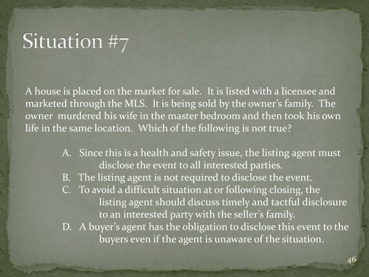 Situation #7