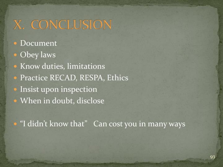 X.  CONCLUSION