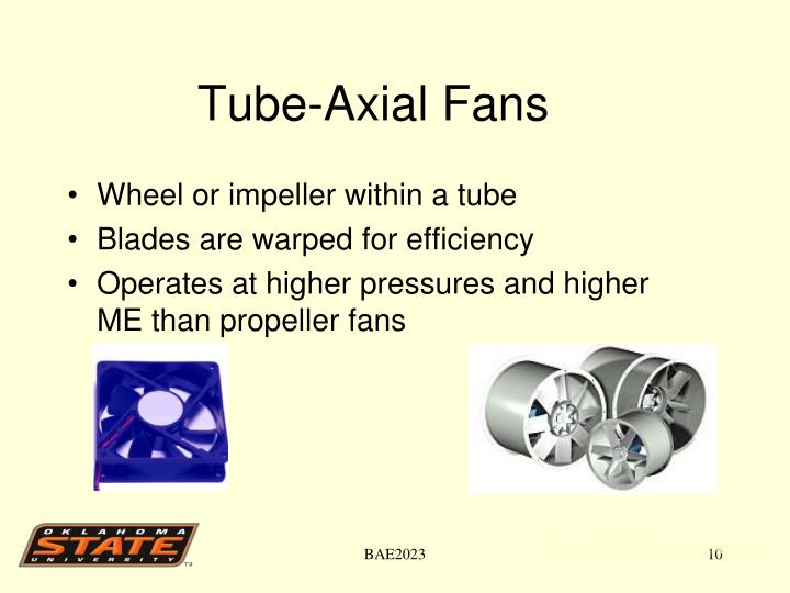 Tube-Axial Fans
