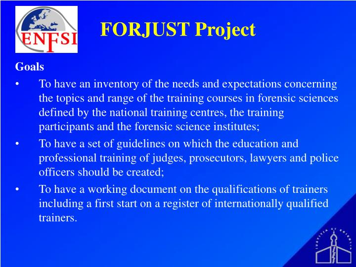 FORJUST Project