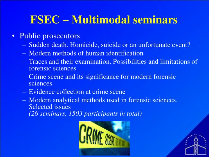 FSEC – Multimodal