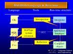 balboa language run time
