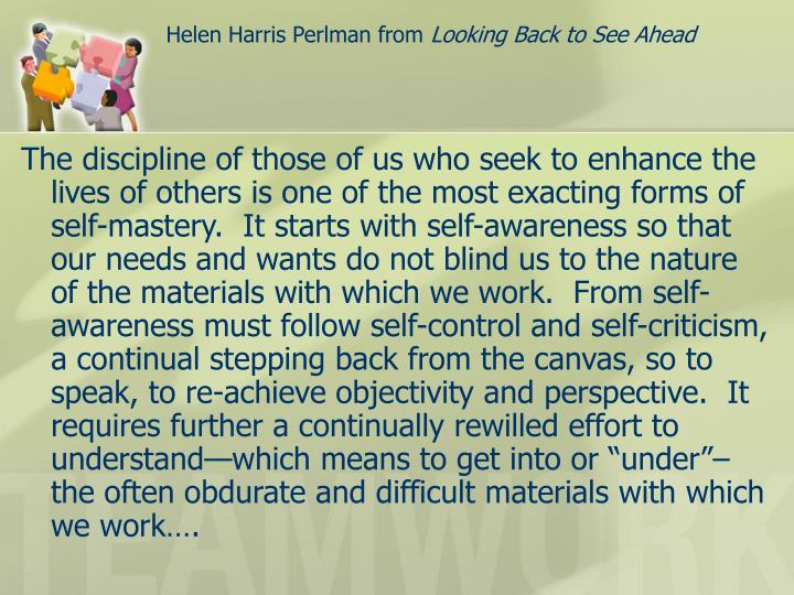 Helen Harris Perlman from