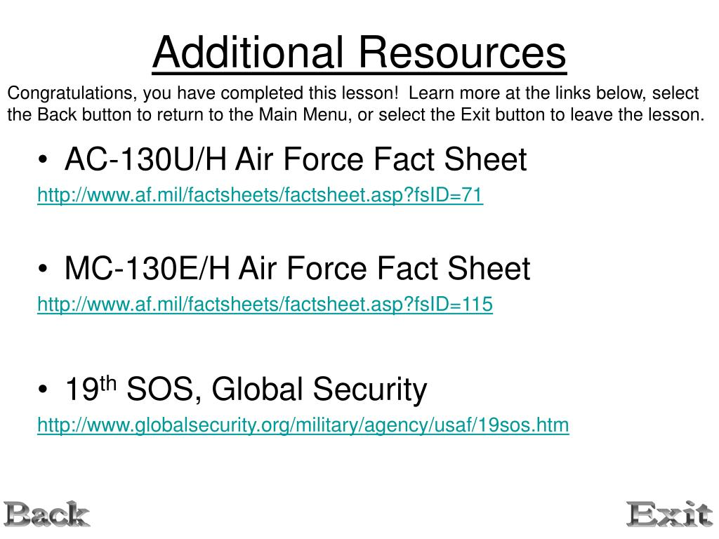 PPT - 19 th Special Operations Squadron PowerPoint