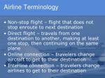 airline terminology1