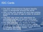 isic cards