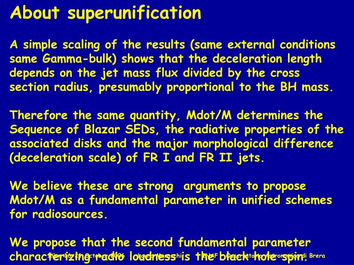 About superunification