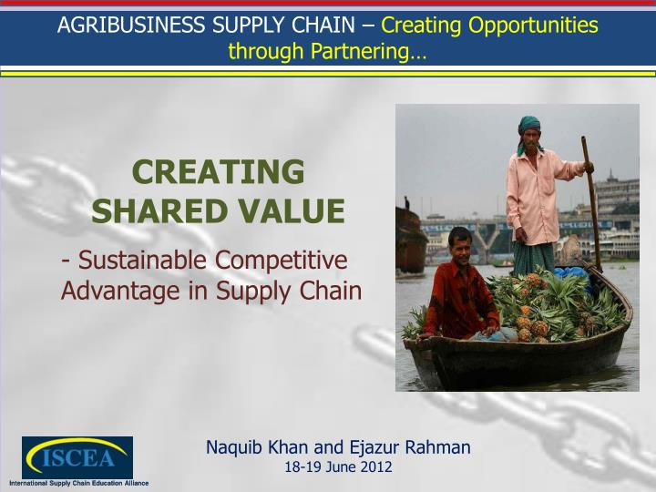sustainable competitive advantage in supply chain n.