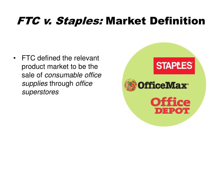 staples market definition