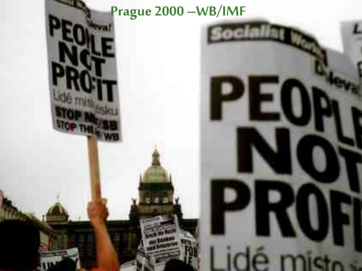 Prague 2000 –WB/IMF