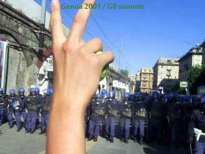 Genoa 2001 / G8 summit