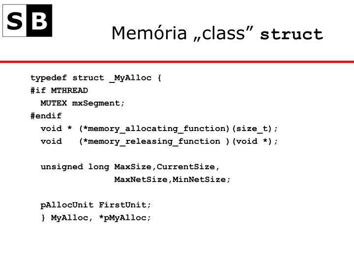 """Memória """""""
