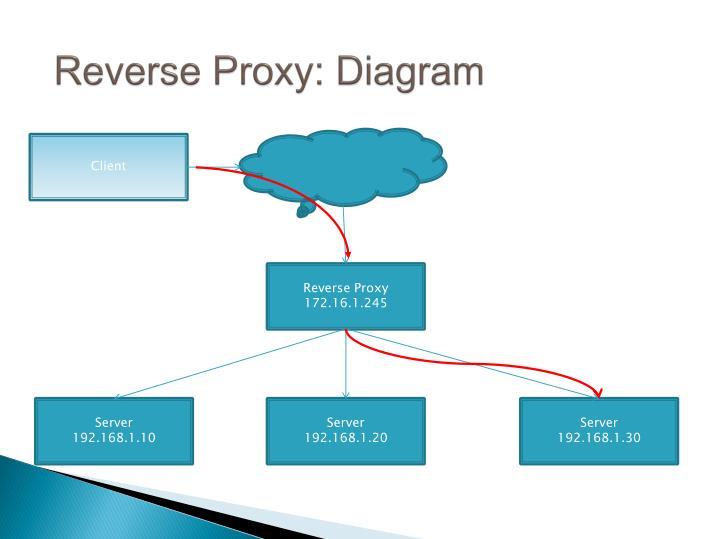 Reverse Proxy: Diagram
