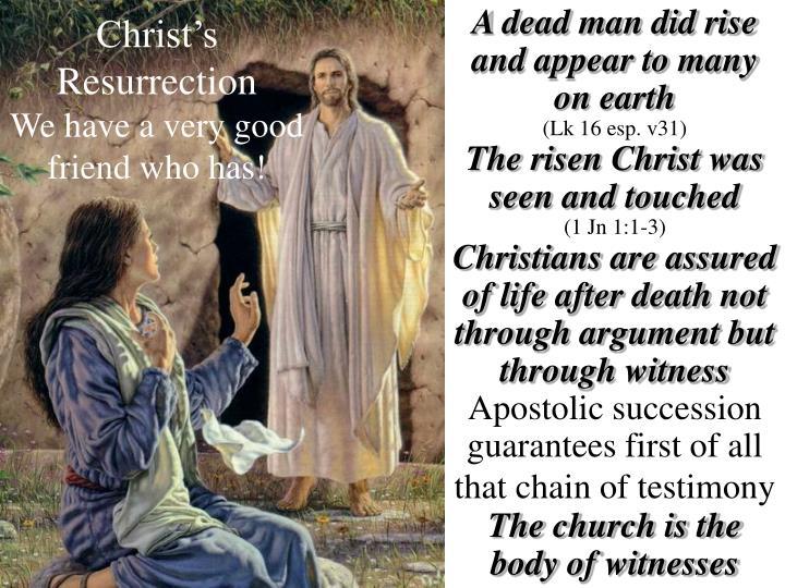 christ s resurrection