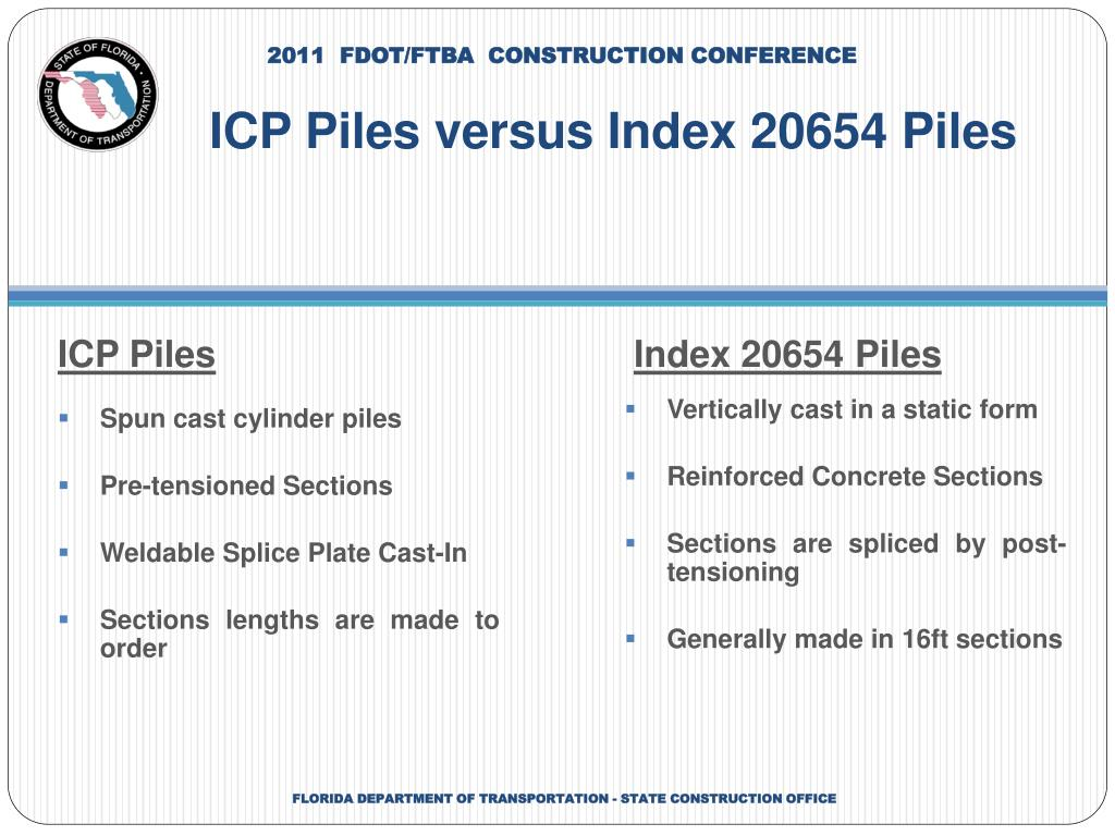 PPT - Industrial Concrete Products (ICP) Spun Cast Piles in