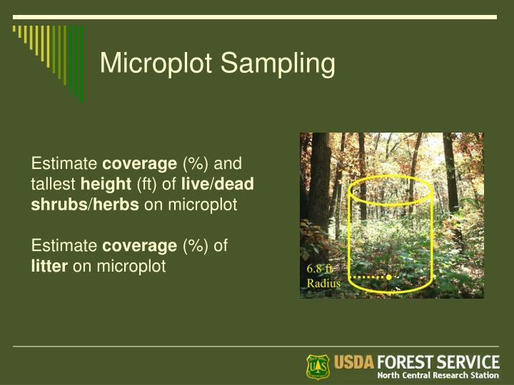 Microplot Sampling