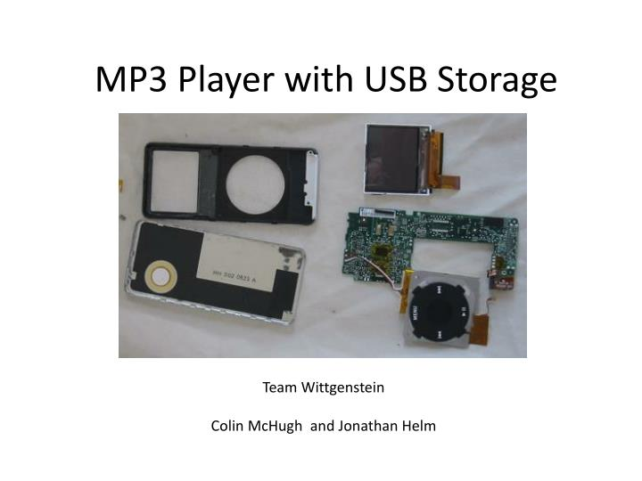 mp3 player with usb storage n.