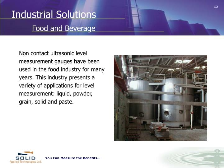 Industrial Solutions