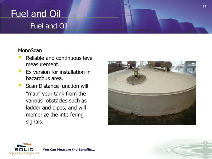 Fuel and Oil
