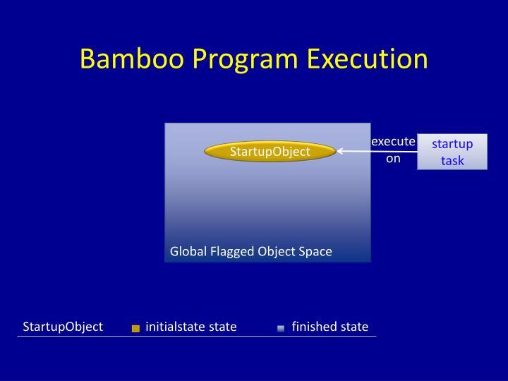 Bamboo Program Execution