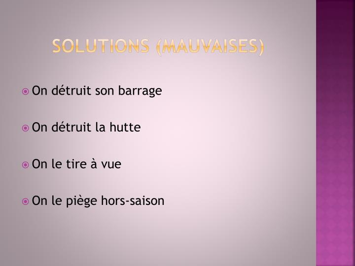 Solutions (