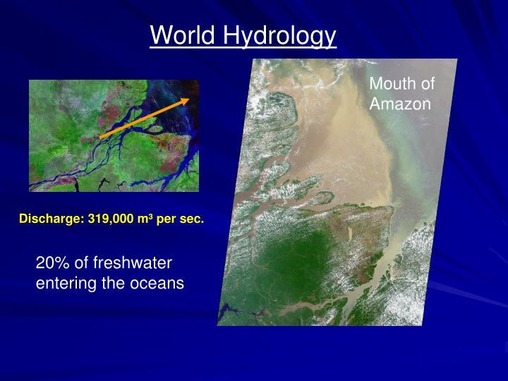 World Hydrology