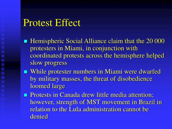 Protest Effect
