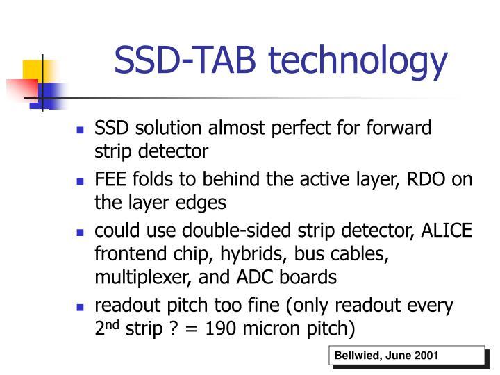 SSD-TAB technology