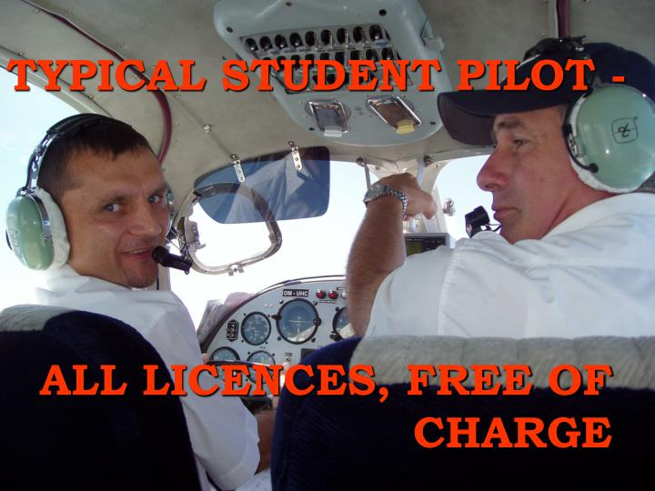 TYPICAL STUDENT PILOT -