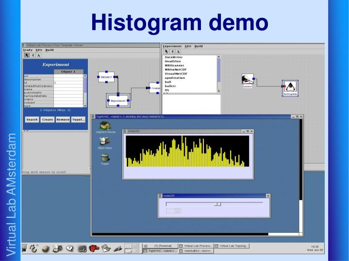 Histogram demo