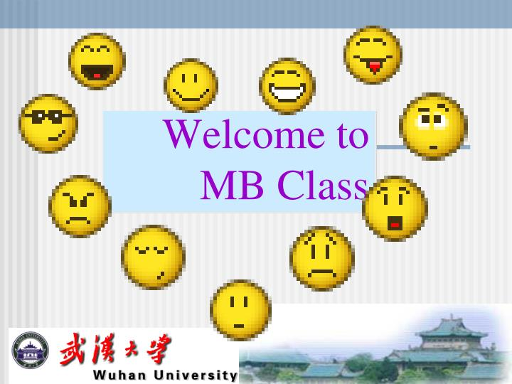 welcome to mb class n.