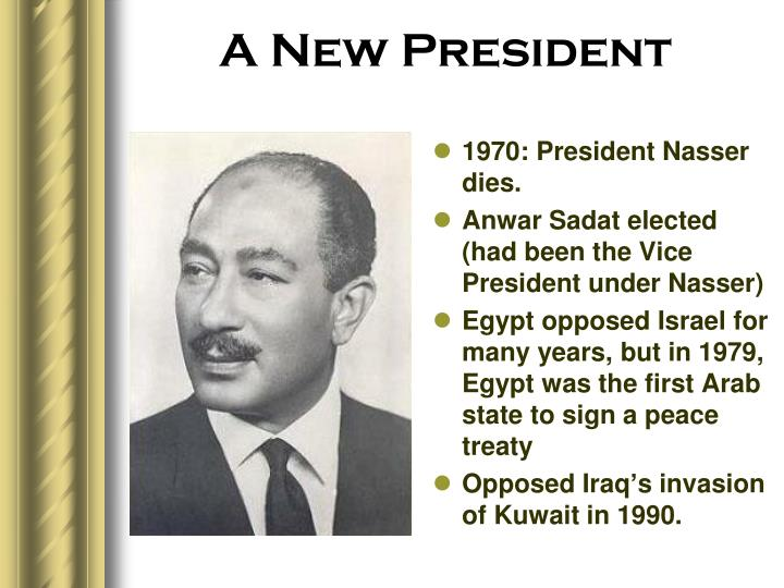 A New President