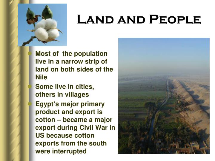 Land and People