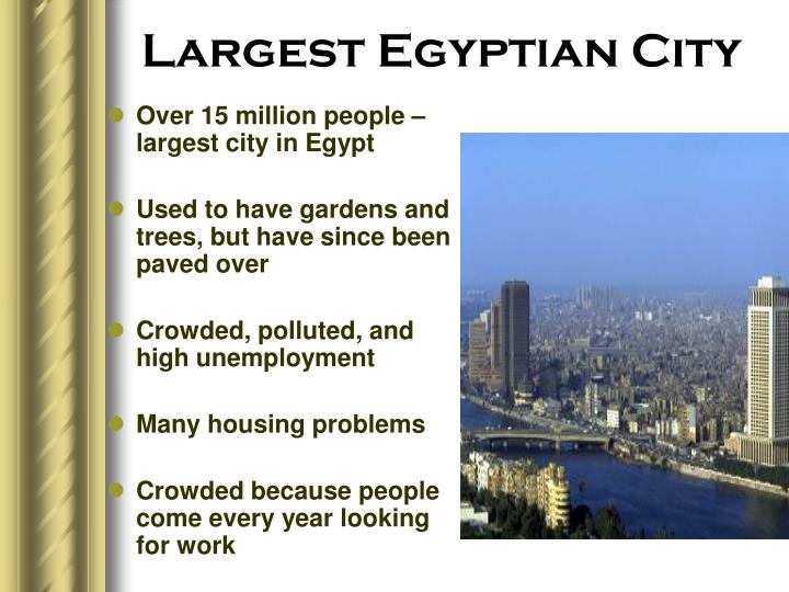Largest Egyptian City